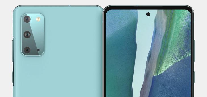 Samsung Galaxy S20 FE verschijnt in hands-on foto's