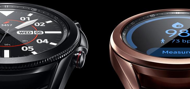 Samsung voorziet Galaxy Watch 3 en Active 2 van bloeddrukmeter en meer