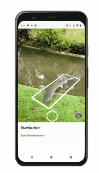 Google Arts Culture AR dieren