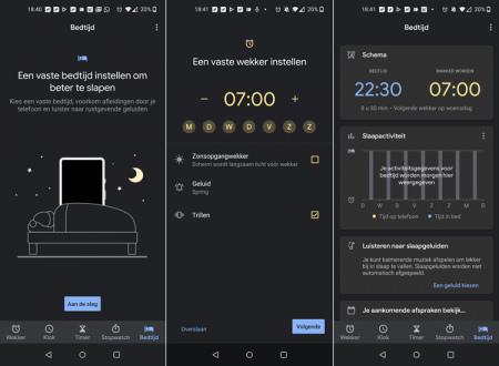 Google Klok Bedtijd