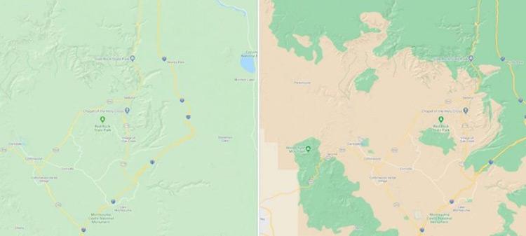 Google Maps kaart update
