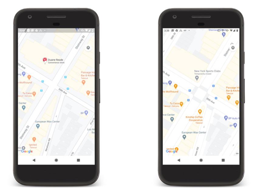 Google Maps stedenweergave