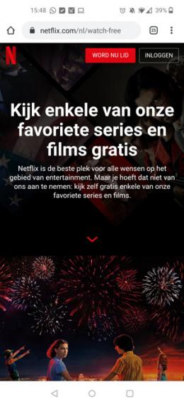Gratis Netflix