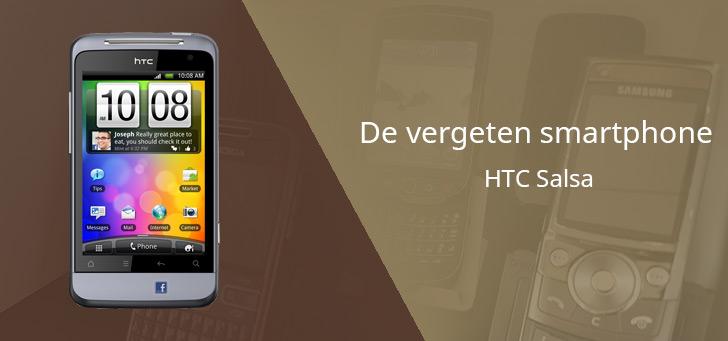 De vergeten smartphone: HTC Salsa