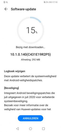 Huawei P30 Pro 10.1.0.140