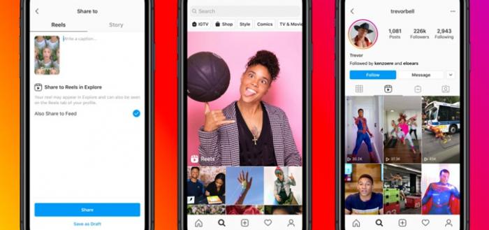 Instagram Reels in Nederland: eigen TikTok-functies in app