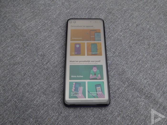 Moto G 5G Plus personaliseren