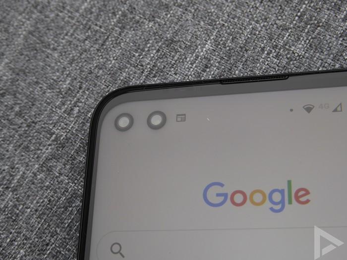 Moto G 5G Plus front-camera