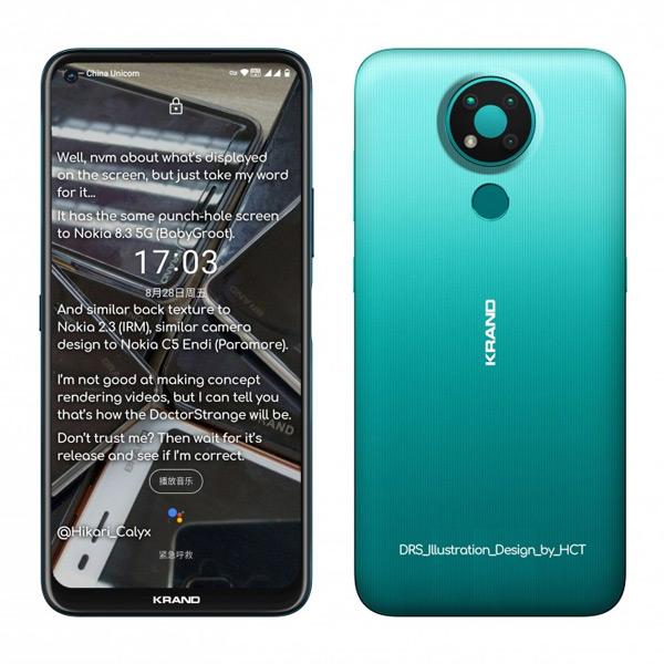 Nokia 3.4 render