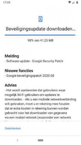 Nokia 6.1 beveiligingsupdate augustus 2020