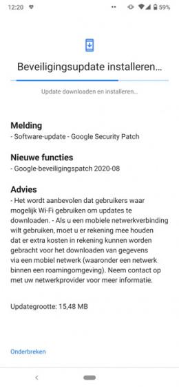 Nokia 6.2 augustus 2020 update
