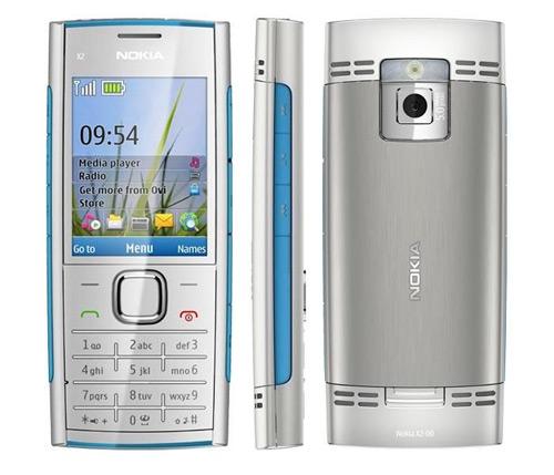 Nokia X2-00 blauw