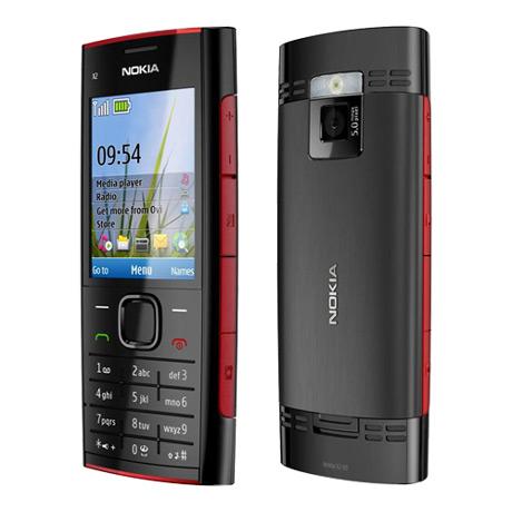 Nokia X2-00 rood