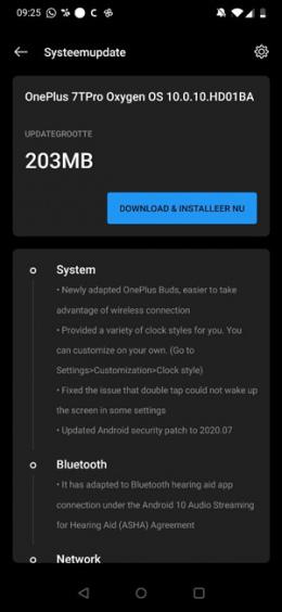 OnePlus 7T Pro OxygenOS 10.0.10