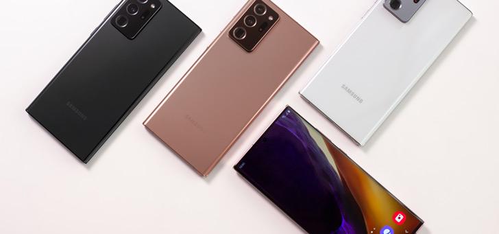 Samsung geeft Galaxy Note 20, Note 10 en Note 9 nieuwe beveiligingsupdate