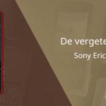 De vergeten telefoon: Sony Ericsson C902
