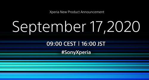 Sony Xperia aankondiging 17 september