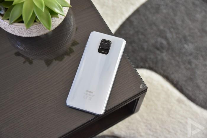 Xiaomi Redmi Note 9 Pro achterkant