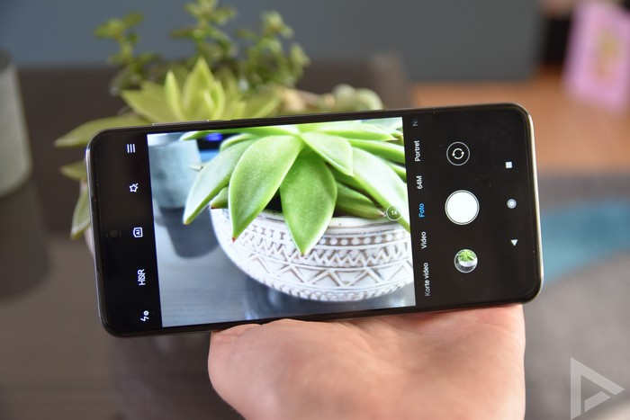 Xiaomi Redmi Note 9 Pro camera-app