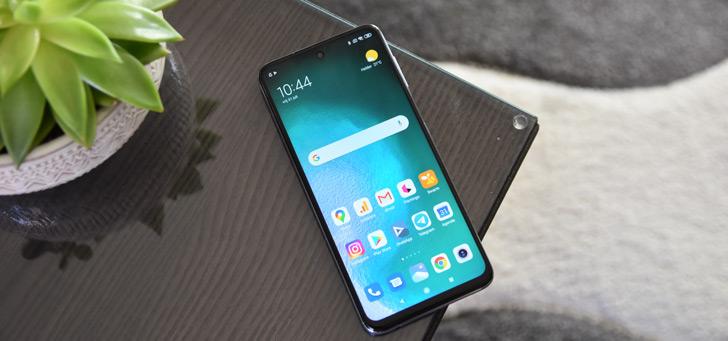 Xiaomi redmi note 9 pro header