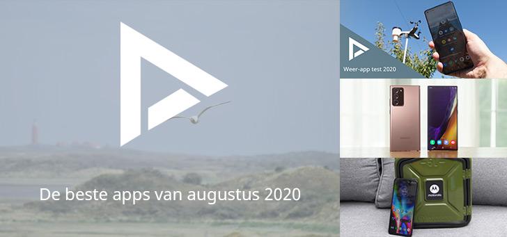 De 6 beste apps van augustus 2020 (+ het belangrijkste nieuws)
