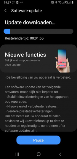 galaxy note 9 augustus update