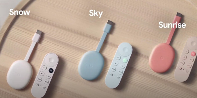 Chromecast 2020