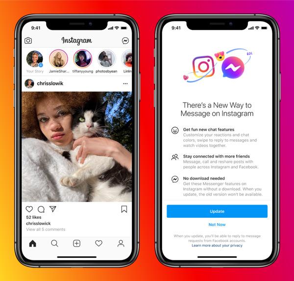 Facebook Instagram Messenger