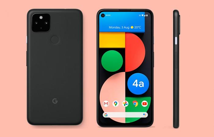 Google Pixel 4a 5G zwart