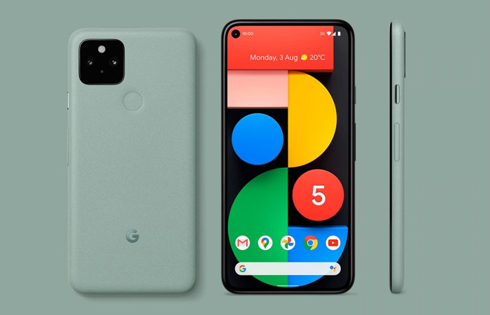 Google Pixel 5 Green