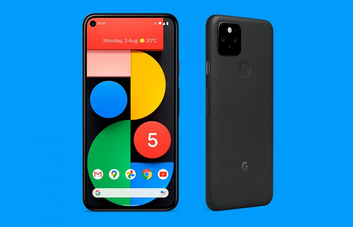 Google Pixel 5 zwart