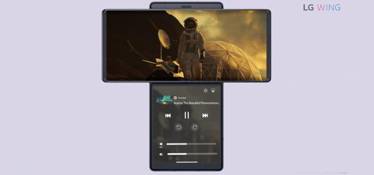 LG Wing met draaibaar scherm komt naar Nederland: alle details