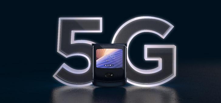 Motorola presenteert nieuwe vouwbare smartphone: Razr 5G