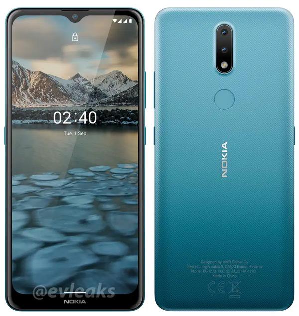 Nokia 2.4 render