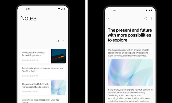 OnePlus Notes 4.0