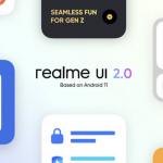 Realme UI 2.0 header