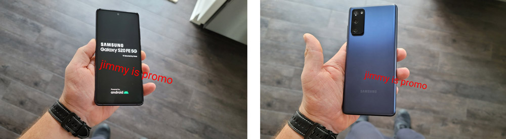 Samsung Galaxy S20 FE hands-on