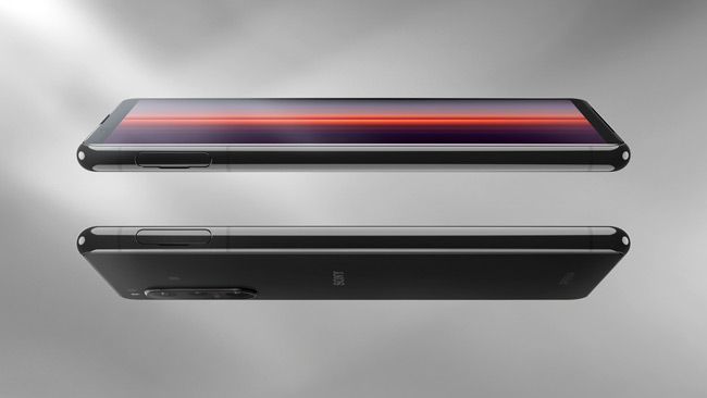 Sony Xperia 5 II zijkant