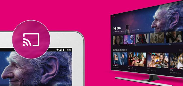 T-Mobile brengt grote update uit voor TV Anywhere app: overal 125 zenders kijken