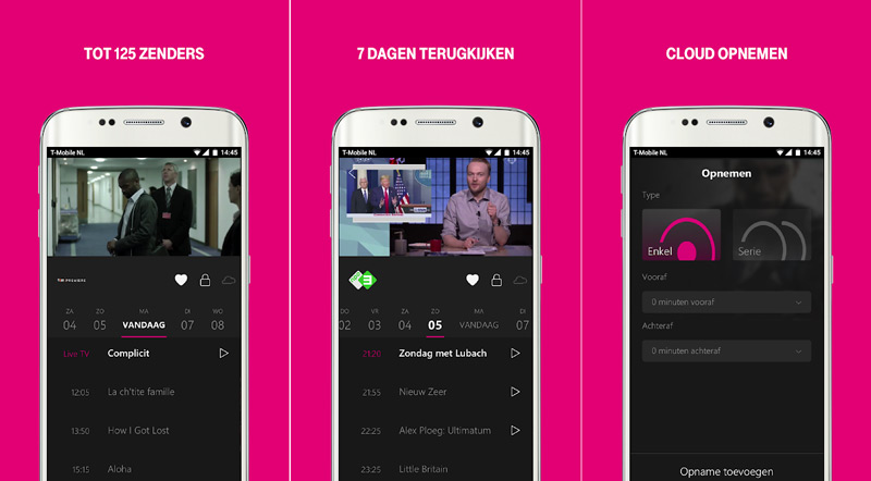 T-Mobile TV Anywhere app