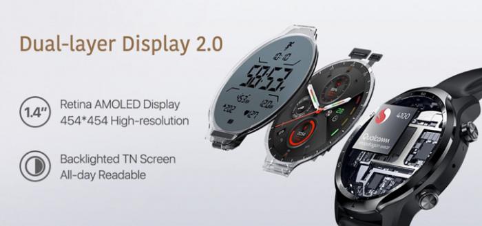 TicWatch Pro 3 GPS smartwatch aangekondigd: een stijlvol horloge