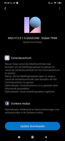 XIaomi Redmi Note 8 Pro MIUI 12