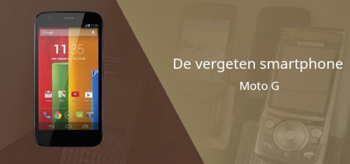De vergeten smartphone: Moto G (1e generatie)