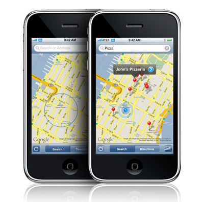 Apple iPhone 3G gps