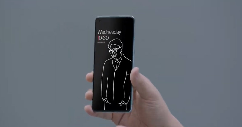 Canvas AOD OnePlus 8T