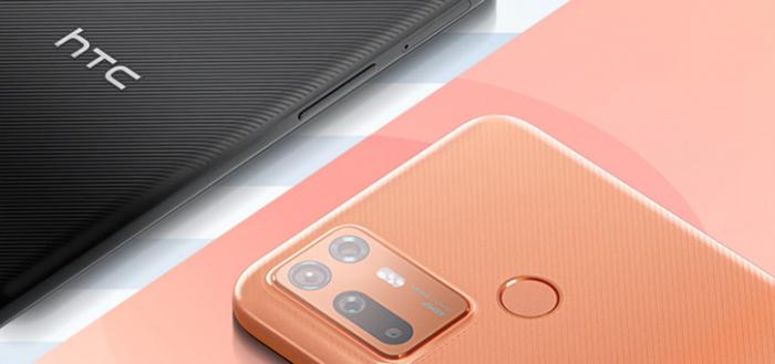 HTC Desire 20+ aangekondigd met Snapdragon 720G en 5000 mAh accu
