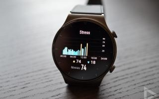 Huawei Watch GT 2 Pro stress