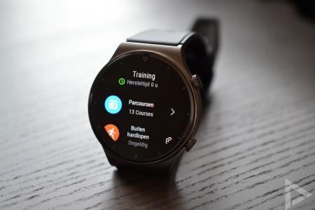 Huawei Watch GT 2 Pro training