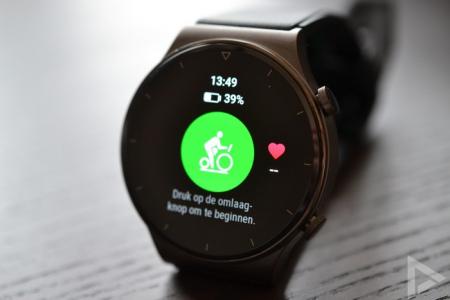 Huawei Watch GT 2 Pro fietsen