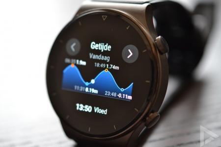 Huawei Watch GT 2 Pro getijde